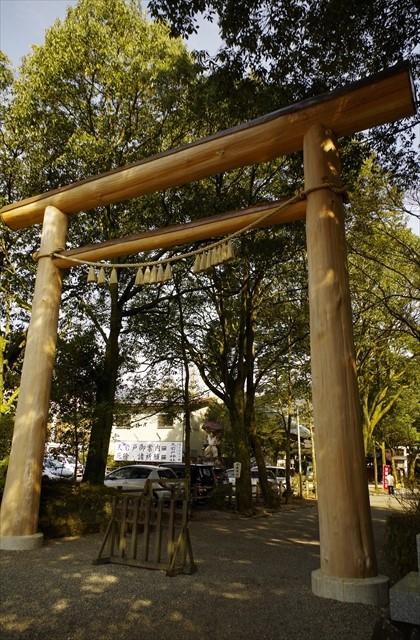 Torii gate at Amano Iwato shrine