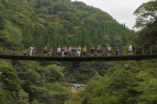 Momigi suspension bridges, Gokanosho
