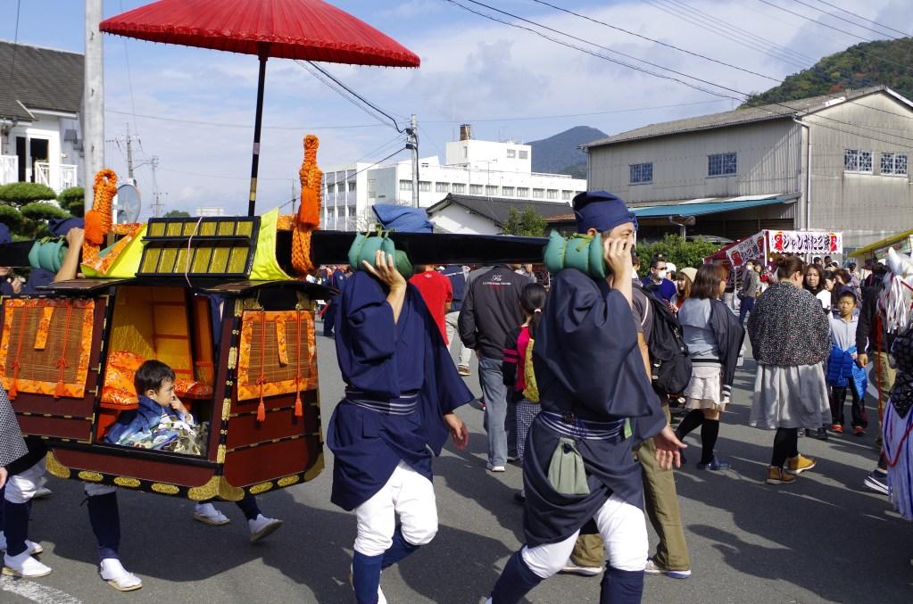 Carrying the Lord of Yatsushiro
