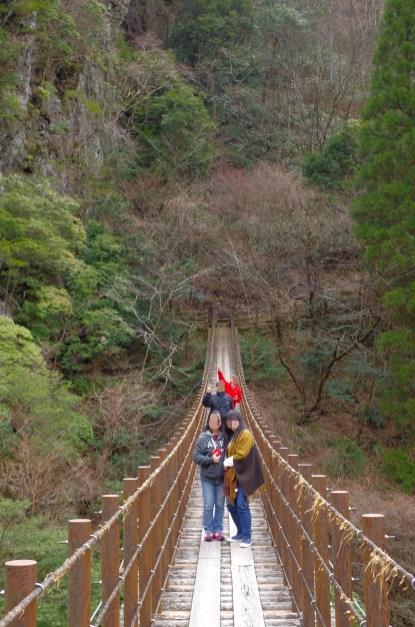Momigi suspension bridges