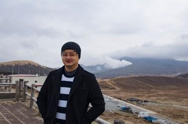 Kusasenri & Mt Aso's crater