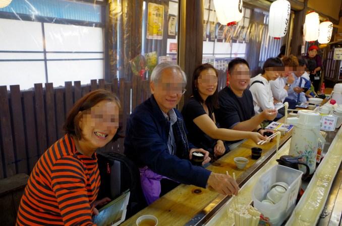 Nagashi soumen, cold noodles