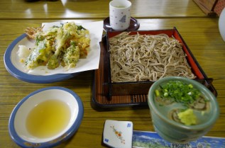 Soba, buckwheat noodles
