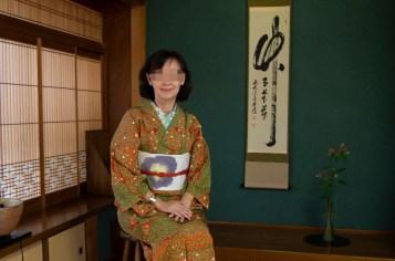 Kimono at Tateyama