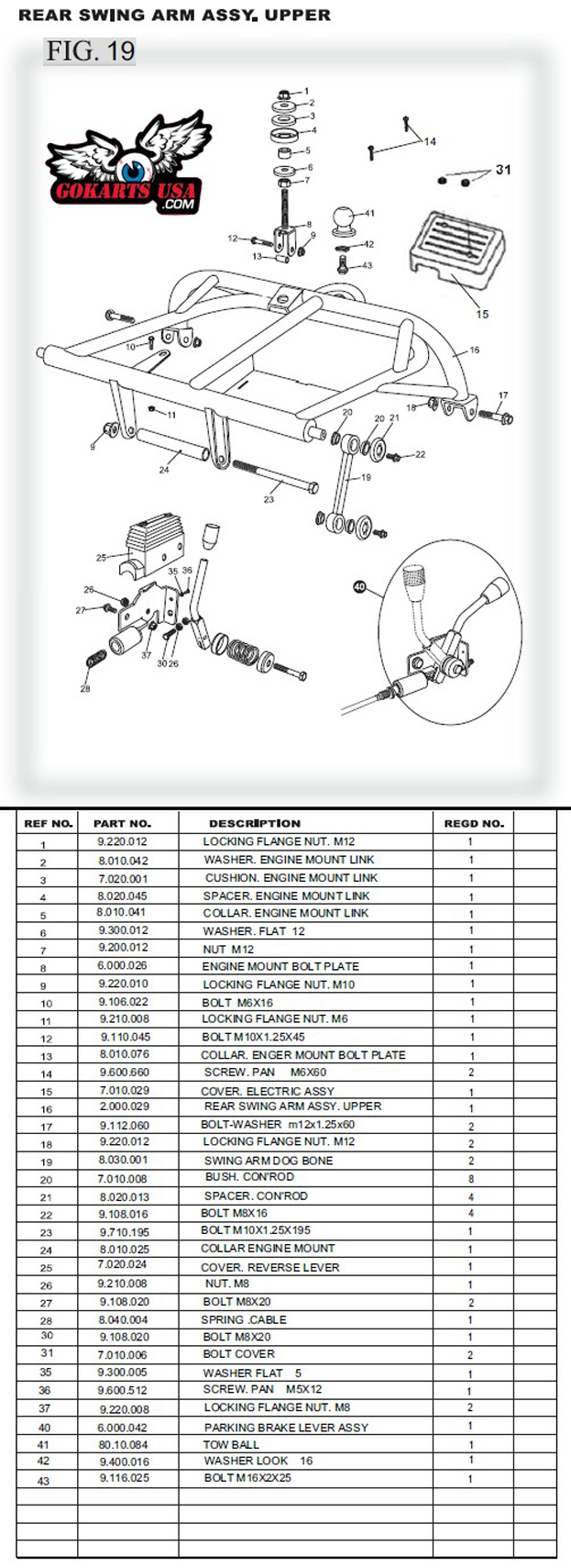 110 Roketa Wiring Diagram Bush Con Rod For Trailmaster 150 Xrs Buggy Go Kart