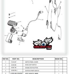 trailmaster 150 wiring diagram wiring diagram cdi unit for trailmaster gy6 150 buggy go karttrailmaster [ 623 x 1344 Pixel ]