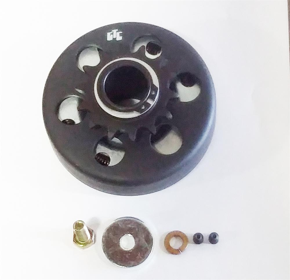 hight resolution of bore centrifugal clutch 40 41 14 tooth go kart