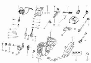 Kandi 200 OEM Engine