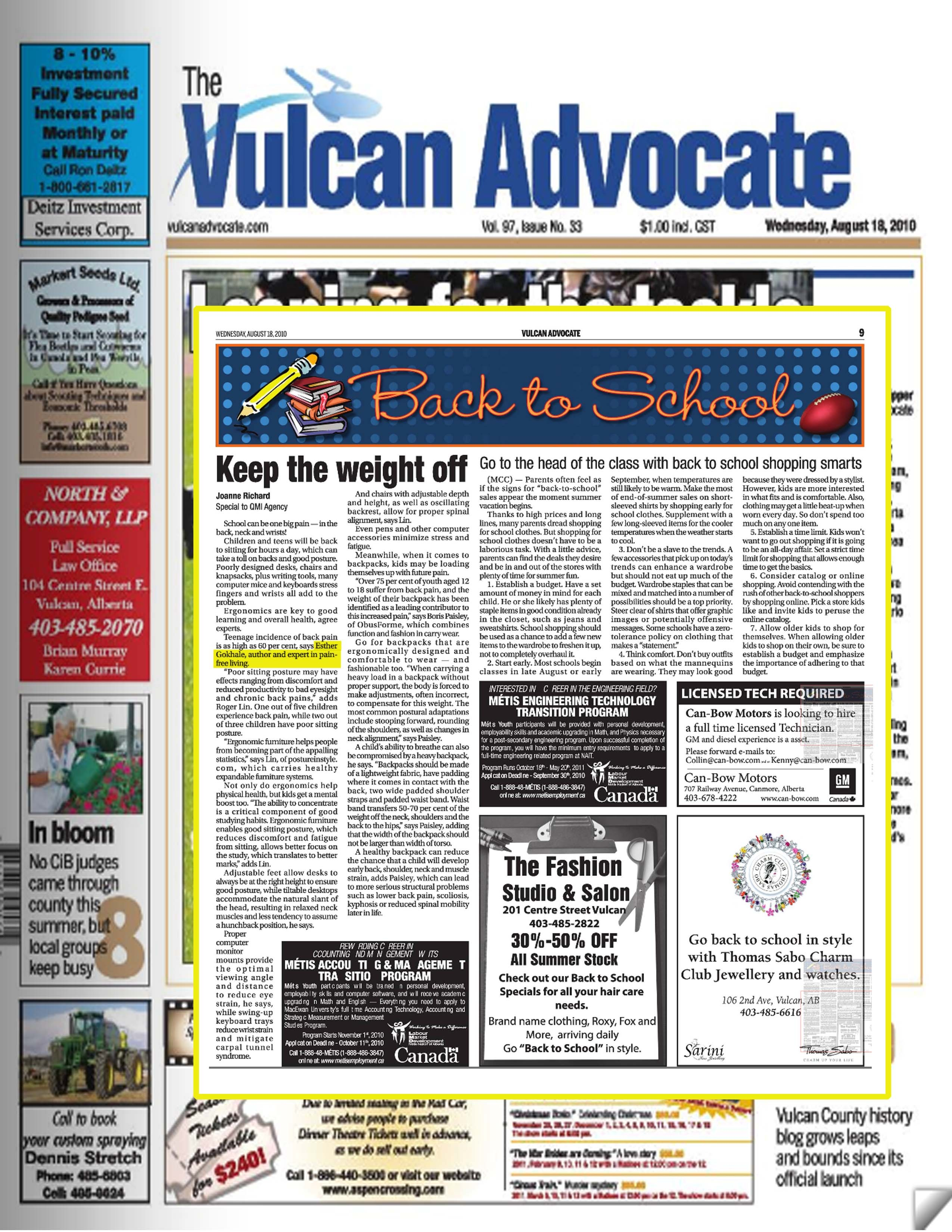 gokhale pain free chair reclining cover in the news page 7 method institute