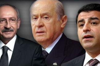 7 Haziran 2015 seçimleri CHP, MHP ve HDP koalisyonunu gündeme getirmişti