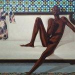 "Barkley L. Hendricks', ""NNN (No Naked Niggahs)"", 1974"