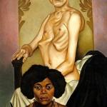 "Christain Schad, ""Agosta, the Pigeon Chested Man, and Rasha, the Black Dove"", 1929"