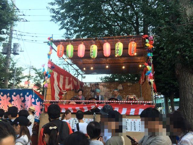 白子諏訪神社大祭の祭囃子