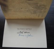 Holiday card from Grace and John Marin, 1937.