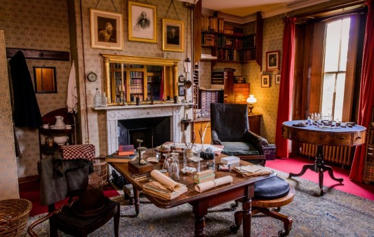 Darwins-study-Down-House