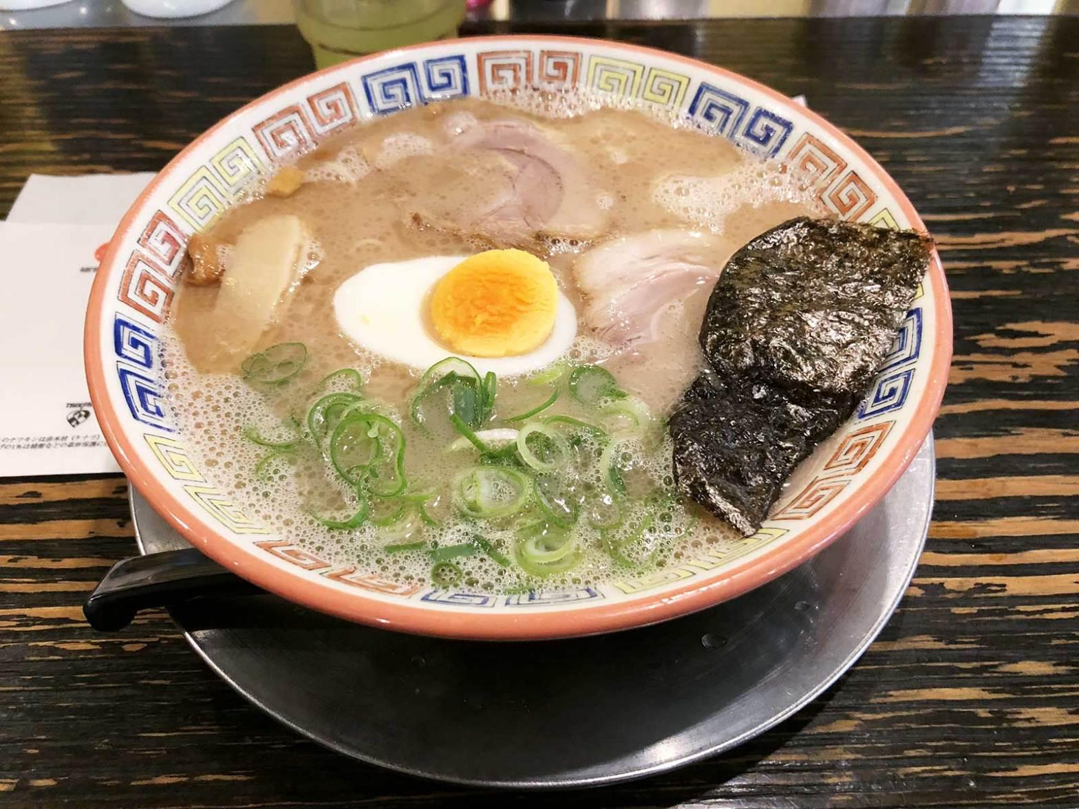 Kurume Taiho tonkotsu ramen