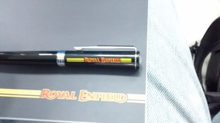 Thats an awesome gift, I gifted it back to some one who is very passionate about Royal Enfield