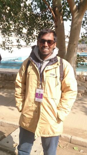 At IIT Delhi, Pic and Coolers courtesy Priya Muralidaran