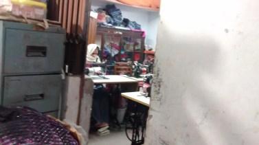 Goonj staff, stitching bags