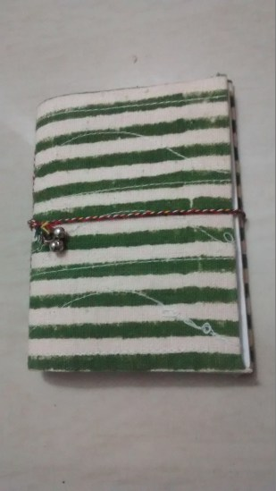 Aswin's Souvenir - Hand Crafted pocket diary
