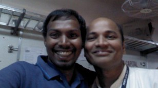 With Amit, our food ERC.