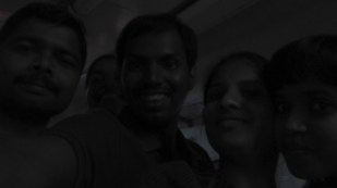 Mahesh, Me, Pooja and Dewal