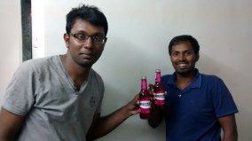 Me and Admin enjoying our Breezers.