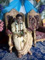 The groom on his throne
