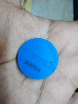 5 Rs Kolkata Metro Ticket