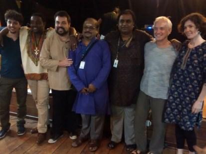 From Left: Pablo Lapidusas, Johann Berby, Fabio Bergamini, Sreyas Narayanun, Dr.S.Karthick , Sid Jacobs and