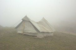 Some one's camping there