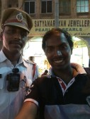 Mr Venkateshwaralu, The police cop who helped us