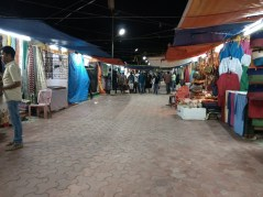 Shilparamam night bazar