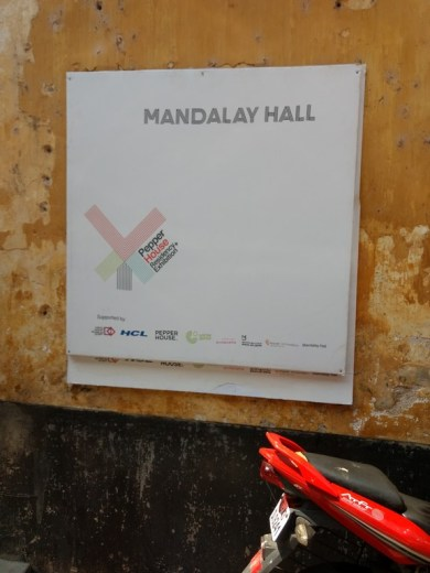 Mandalay Hall - Peperhouse Project