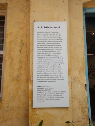 A.I.R Artists Of Kochi