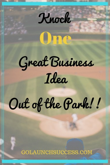 Knock one great business idea out of the park | If you want to know how the most successful business are highly profitable by picking one main service or product, then this post is for you! It includes the dos and don'ts that will help you narrow down what you offer your clients and customers. Check it out!!