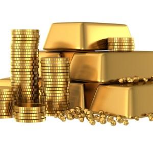 Gold Bullion Bars Coins