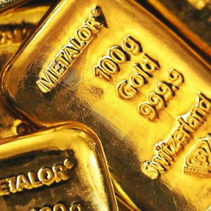 Metalor 100g gold 9999 bullion bar
