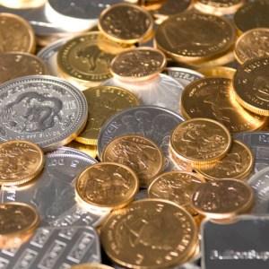 Silver Gold Coins