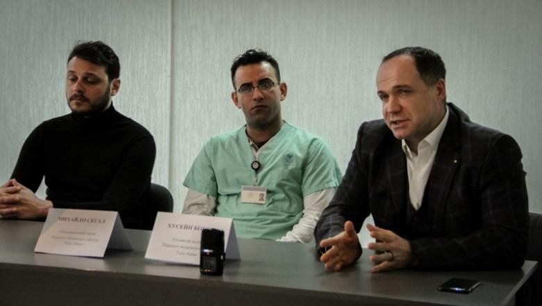Ізраїльські медики відвідали Київський онкоцентр (Відео)