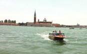 View of the islands across from Saint Marco's square