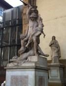 Statue in piazza del signoria