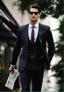 スーツジャケットスタイル