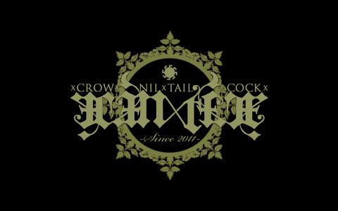 xCROWxNILxTAILxCOCKx ロゴ
