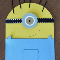 Minion Gift Card Holder