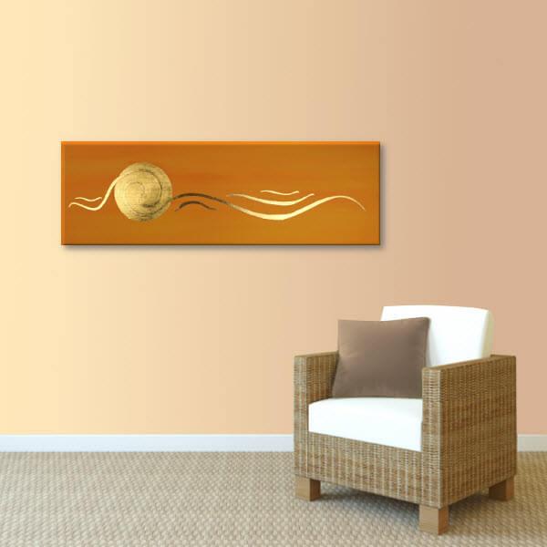 Spirale Bild 24 Karat Blattgold Couch