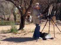 Gold Canyon Plein Air painters