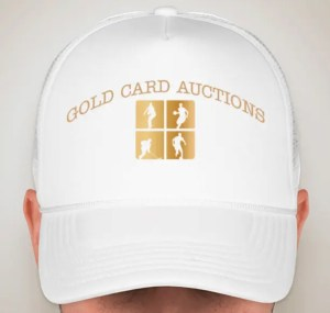 Gold Card Auctions Hat