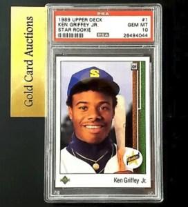 1989 Ken Griffey Jr. Upper Deck