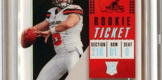 Baker Mayfield rookie card